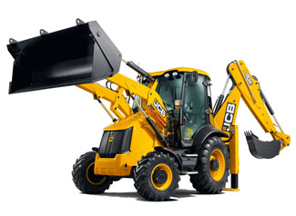 Backhoe Loader digger hire
